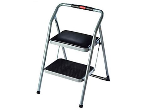 2 step rubbermaid padded seat step stool discontinued