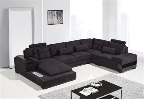 Modern Sectional by Modern Fabric Sectional Sofa