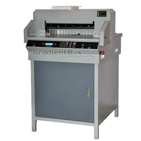 Dan Gambar Mesin Pemotong Kertas Mesin Pemotong Kertas Otomatis Plus Sensor 4605