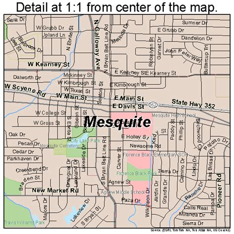nevada texas map road map of mesquite nv pictures to pin on pinsdaddy