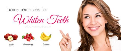 top 17 home remedies to whiten teeth naturally fast