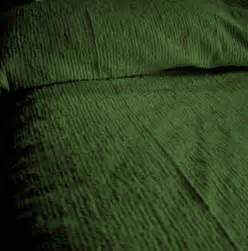 Duvets On Sale King Size Solid Hunter Green Ribbed Cotton Chenille Bedspread With