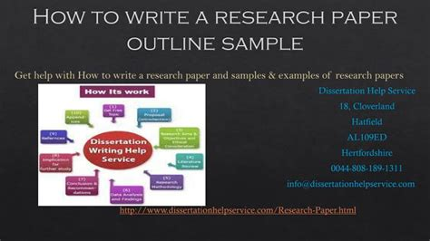 How To Make A Paper Slide - ppt how to write a research paper outline sle