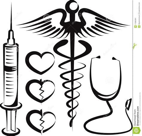 imagenes medicas de amor conjunto de muestras m 233 dicas ilustraci 243 n del vector