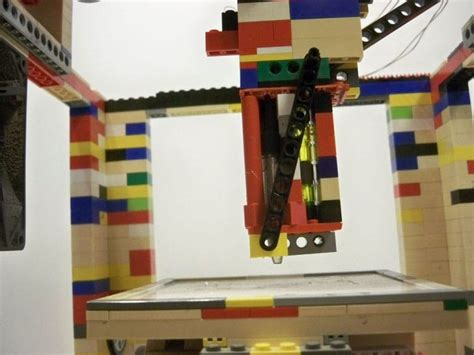 lego printer tutorial diy functional lego 3d printer build which is super cheap