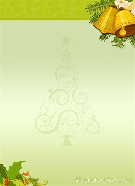 christmas letterhead stationery christmas