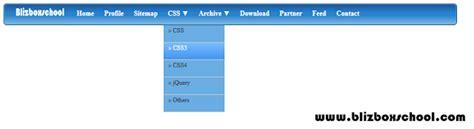 top menu bar css top menubar css3 gradient