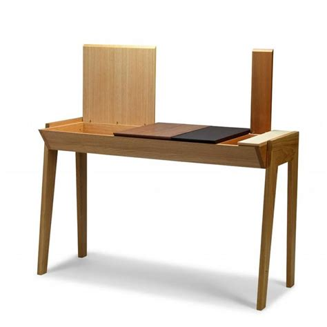 desk with compartments arbor work desk in wood with compartments sediarreda