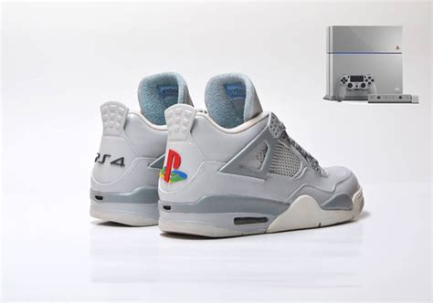 ps4 jordan themes air jordan 4 quot jrdn4 x ps4 20th anniversary quot custom by