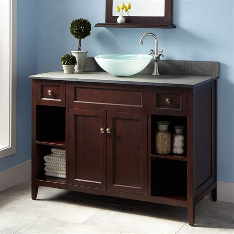 bathroom cabinets for bowl sinks 25 best ideas about vessel sink vanity on pinterest