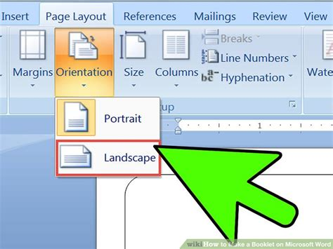 layout livro word 2 easy ways to make a booklet on microsoft word wikihow