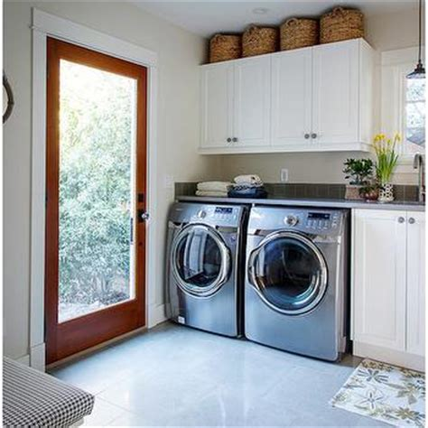 cabinets above washer dryer silver washer and dryer design decor photos pictures