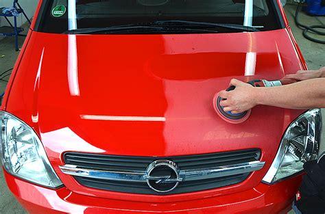 Roten Autolack Polieren by Eschmann Nolte 183 Aufbereitung