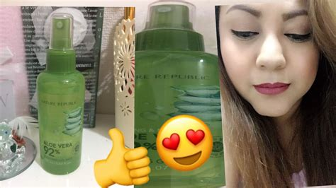 Nature Republic Soothing Spray nature republic soothing and moisture aloe vera 92