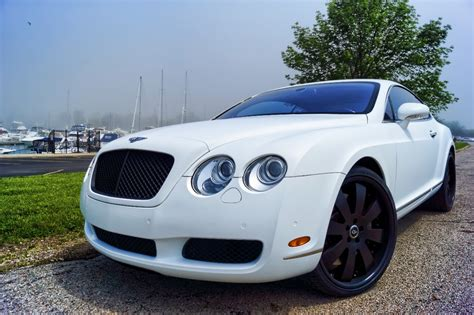 matte white bentley bentley continental matte white wrap powder coated