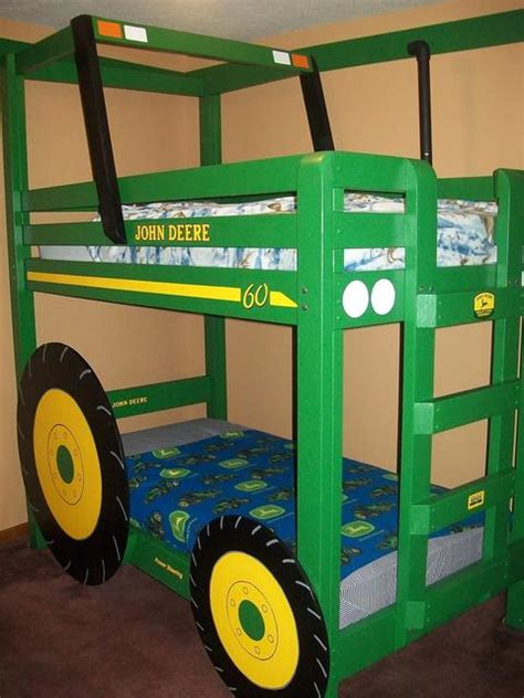 kids tractor bed shaun bennett s tractor bunk bed