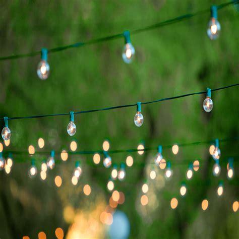 50 Socket C7 Green Cafe Light String W Bulbs For Lanterns C7 Light String