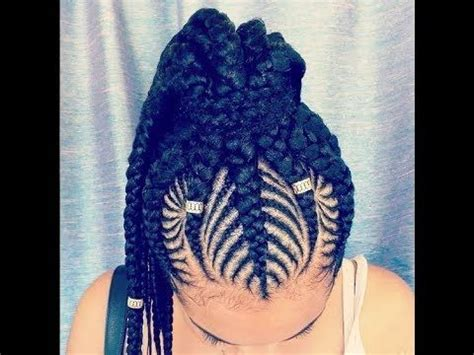 40 stunning ghana weaving styles for ladies fashionstyle ng 2018 african braids hairstyles beautiful braids styles
