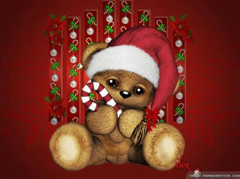 cute christmas backgrounds  hd wallpapers  celebrations christmas bear christmas
