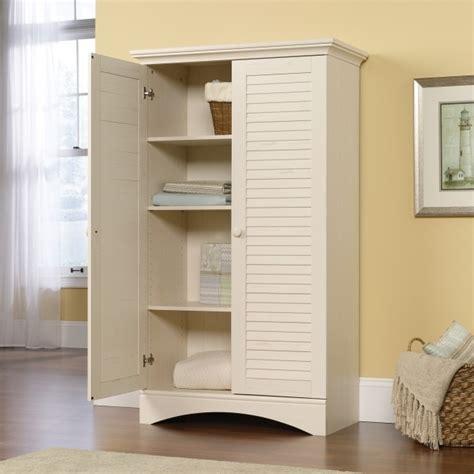 sauder harbor view storage cabinet white gorgeous sauder 400742 storage cabinet antiqued white