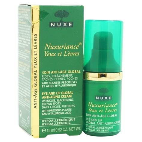 nuxe nuxuriance yeux et levres eye and lip global anti