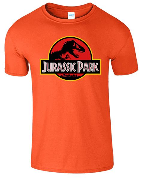 Hoodie Polos Resleting Ready All Colour Jurassic Park Mens Logo Retro Top Cotton T Shirts