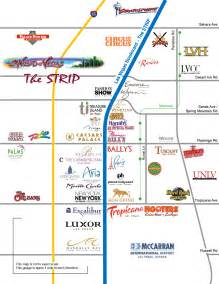Las Vegas Map Strip by Map Of The Las Vegas Strip 2013 You Can See A Map Of