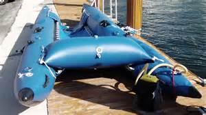catamaran without sails inflation of sail catamaran cataraft with high pressure