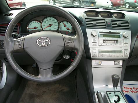 2004 Toyota Camry Interior 2004 Toyota Camry Solara Pictures Cargurus