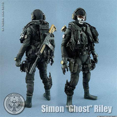 Oceanseven Call Of Duty 17 simon quot ghost quot figure