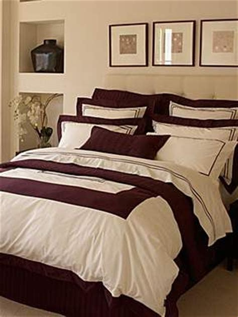 burgundy and cream bedroom cream bedrooms burgundy and bed linens on pinterest