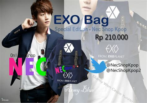 Tas Kanvas Kpop Exo this collection for sold out