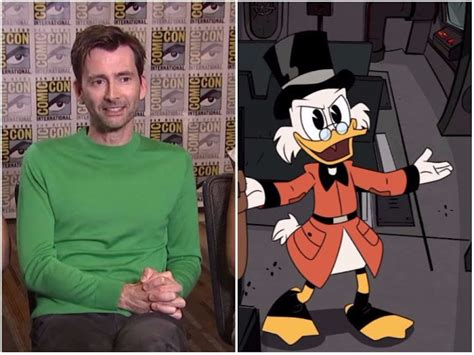 david tennant ducktales video quot there s no skull in this bit quot david tennant co