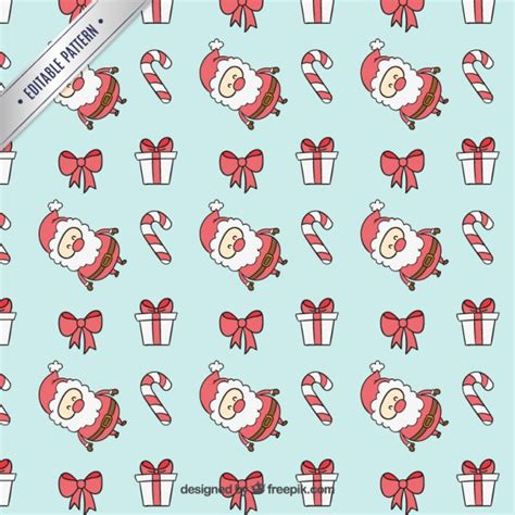 christmas patterns early years blue christmas pattern vector free download