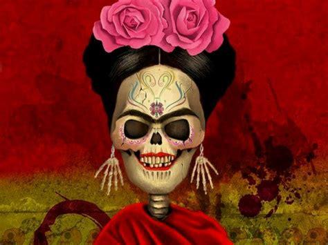 imagenes de calavera frida kahlo frida kahlo calavera dia de muertos favorites pinterest