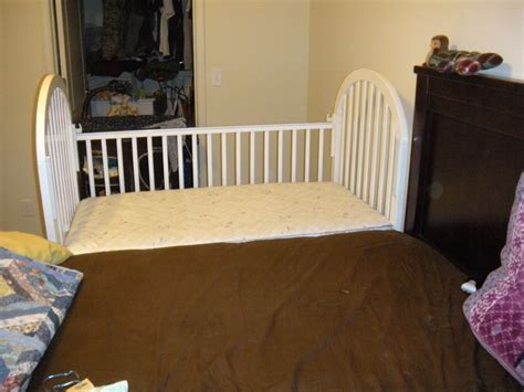 crib that attaches to bed 17 best images about sidecar crib on pinterest car bed