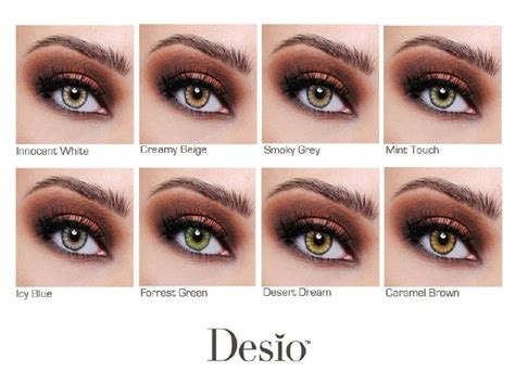 color enhancing contacts desio color contacts chart contacts specifically made to