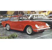 1958 Triumph Italia 2000 Coupe Vignale  Studios