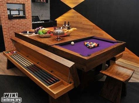 convertible pool table awesome dining room