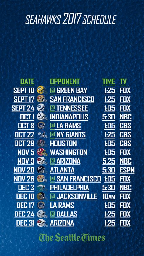 print  save    seahawks schedule  seattle times