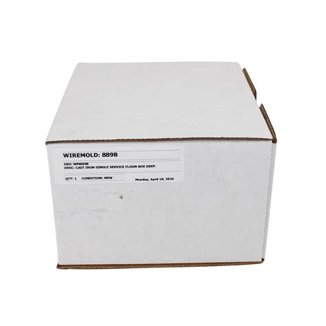 wiremold legrand 889b cast iron floor box outlet box