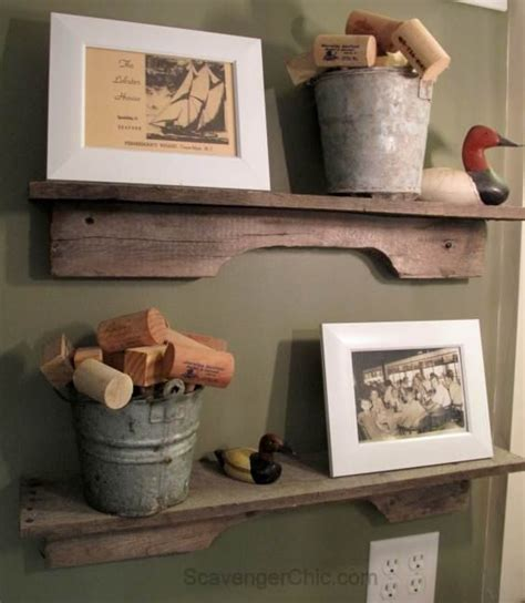 diy easiest pallet project ever rustic reclaimed wood