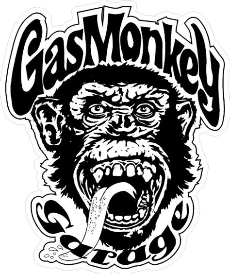 free coloring pages of gas monkey