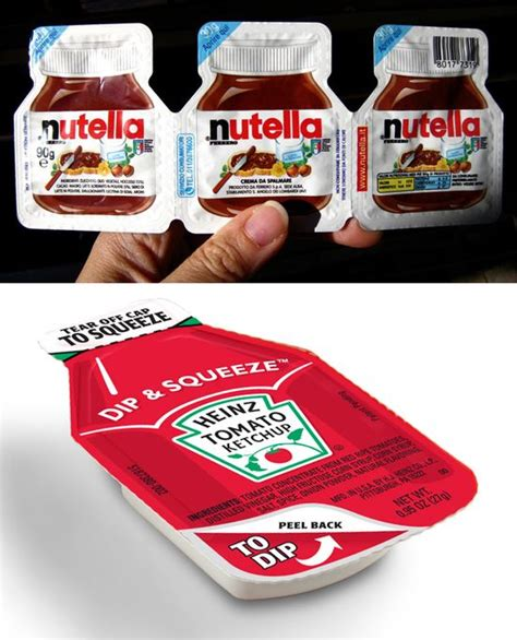Nutella Botol Kecil Damya Graphic Design Packaging Design Inovasi Packaging