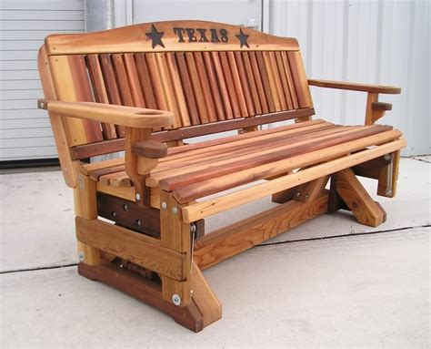 wooden rocking bench derang swivel glider adirondack chair plans