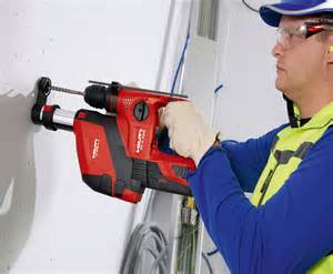 Te Plumbing by Hilti Cordless Rotary Hammer Te 4 A18 With Dust Removal