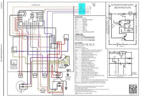 goodman heat thermostat wiring diagram efcaviation