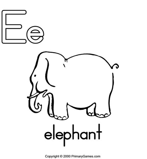 free coloring pages primary games abc coloring pages bestofcoloring com