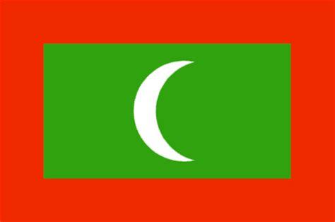 map us to canada maldives flag and description