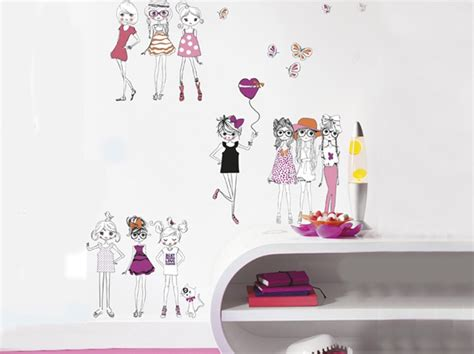 Stickers Pour Chambre Fille